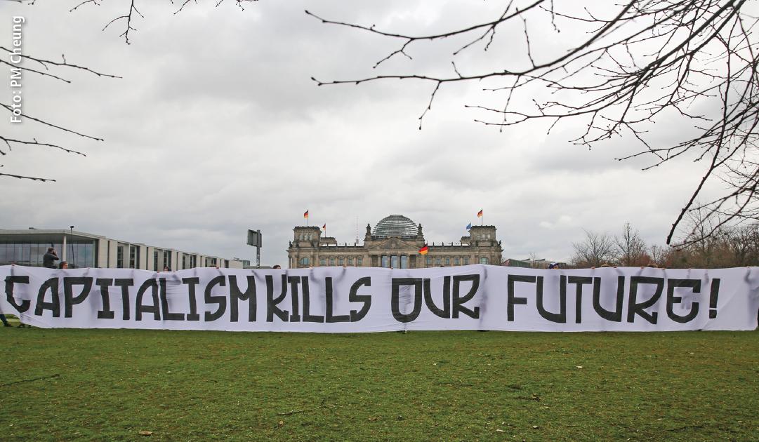 Bundessprecher*innenrat der Ökologischen Linken Klimakatastrophe – ein Produkt des Kapitalismus